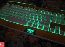 Newmen GM100S - Bàn phím gaming đẹp mắt, chắc chắn, không sợ nước