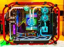 Bộ PC 'máy nổ' cực đẹp này mà để trên bàn chơi game thì quá là chất!