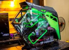 Bộ máy tính độ theo phong cách 'Green Lantern' đẹp tới mức không thể rời mắt