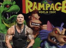 Có thể bạn chưa biết: Siêu phẩm mới Rampage của The Rock được chuyển thể từ một tựa game đấy!