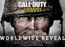 Call of Duty 2017 chính thức lộ diện, trở về với cội nguồn Thế chiến thứ 2