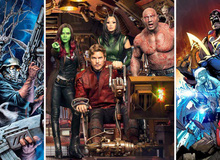 10 bí mật ít ai biết về Vệ binh dải Ngân Hà: The Guardians of the Galaxy