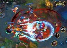 """Game """"Liên Minh Huyền Thoại"""" siêu nhẹ Heroes Evolved mời cả... Lý Tiểu Long vào đánh nhau"""
