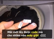 Đắng lòng thanh niên đi sinh nhật game mãi mới lấy được giftcode, mang về cho nhầm vào… máy giặt