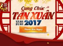 Ngạo Kiếm Vô Song tung server mới Kiều Phong, cùng gamer đón Tết Nguyên đán Đinh Dậu 2017