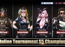 Cùng xem game thủ nước ngoài thể hiện tại giải Online Tournament S5 Tập Kích Quốc Tế