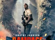 The Rock đối đầu với Gorilla trong phim mới Rampage