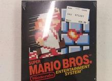 """Xuất hiện cuốn băng game Mario 30 năm """"chưa bóc tem"""", giá bán của nó sẽ khiến bạn giật mình: 700 triệu Đồng"""