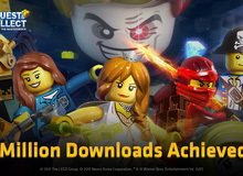 Lego Quest & Collect - Game nhập vai vui nhộn cán mốc triệu lượt chơi, bổ sung thêm màn chơi mới