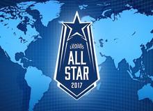 LMHT: Lịch thi đấu chính thức của All-Star 2017, Việt Nam gặp Trung Quốc trong ngày khai mạc