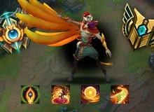 Thiên biến vạn hóa với 5 kiểu lên trang bị cho tướng mới Rakan, phù hợp với các tình huống