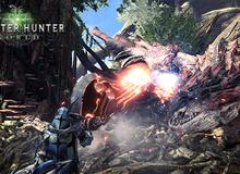 Hàng khủng Monster Hunter: World lại khiến game thủ rạo rực với gameplay vừa đẹp vừa chất