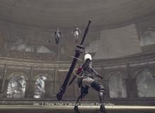 Hết câu khách bằng mỹ nữ nóng bỏng, NieR: Automata lại đưa giám đốc hãng vào làm boss game