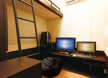 Quán net tại Nhật Bản có phòng riêng, nhà tắm, máy giặt như khách sạn vậy
