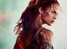 Poster mới của phim Tomb Raider bị fan ném đá vì có chiếc cổ siêu dài