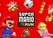 Super Mario Run chính thức ra mắt phiên bản Android