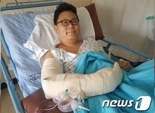 Phóng viên báo game mất cánh tay vì dũng cảm cứu người gặp nạn