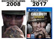 Chưa ra mắt, Call of Duty: WWII đã dính nghi án đạo nhái game ra mắt 10 năm trước