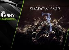 Nếu tháng sau bạn có dự định sắm GTX 1080, đừng quên lấy miễn phí game cực hay Middle-earth: Shadow of War!