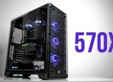 Corsair 570X RGB - Vỏ case siêu cấp đã có màu mới, còn gì phấn khích hơn cho game thủ Việt mê RGB?