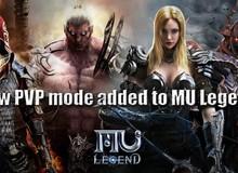Tuần tới, các game thủ MU Legend sẽ được choảng nhau xuyên lục địa