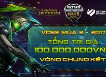 Đây là 4 đội tuyển lọt vào vòng chung kết giải đấu LMHT Việt Nam VCSB mùa 2