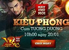 Tặng 301 Gift Code Ngạo Kiếm Vô Song mừng server mới Kiều Phong
