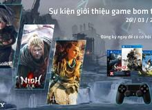 Tham gia sự kiện này, game thủ sẽ được chơi bom tấn miễn phí, nhận được tay cầm PS4 và đĩa game trị giá 1,3 triệu đồng