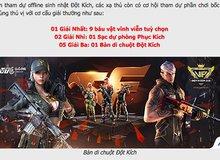 VTC Game chơi trội tặng 9 báu vật vĩnh viễn tuỳ chọn cho game thủ Đột Kích
