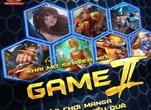 Nhân dịp khai mở server mới Game II, Manga GO tặng ngay Giftcode trải nghiệm