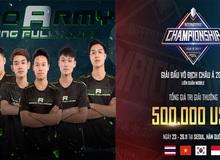 Liên Quân Mobile: ProArmy giành vé tham dự giải đấu có tổng giá trị giải thưởng lên tới 500.000 USD