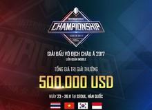 Liên Quân Mobile: GameTV chắc chắn có 15.000 USD tiền thưởng khi tham dự giải vô địch Châu Á 2017