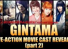 Thừa thắng xông lên, live action Gintama sẽ có phần mới vào mùa hè 2018