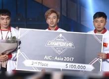 Liên Quân Mobile: Thua SMG trong trận chung kết, GameTV đành nhận… 100.000 USD tiền thưởng