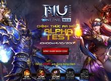 MU Online Web chính thức mở cửa Alpha Test tại Việt Nam ngày 14/10
