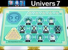 Cập nhật tình hình các vũ trụ tham gia Giải Đấu Sức Mạnh trong Dragon Ball Super
