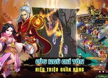 Mộng Võ Lâm chính thức update phiên bản mới Cửu Ngũ Chí Tôn, tặng Gift Code trị giá 7 triệu VNĐ