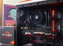 Cấu hình chơi game tuyệt đỉnh sử dụng AMD Ryzen mới cực hot 16 triệu đồng