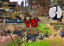 Cách đánh của Chiến Thần Vô Song khiến người chơi liên tưởng đến series Dynasty Warrior