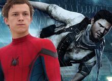 Người nhện Tom Holland đã sẵn sàng tham gia phim Uncharted