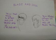 Bá đạo cô nàng game thủ mê Blade and Soul đến độ vẽ hẳn bộ truyện tranh siêu dễ thương