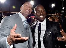 """Tyrese Gibson gọi The Rock là """"thằng hề"""", dọa không đóng Fast 9"""