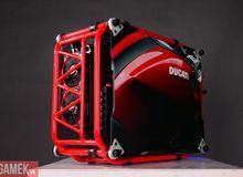 Bộ máy tính Ducati ấn tượng cho game thủ đam mê tốc độ tại Việt Nam