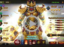Trải nghiệm tính năng Hóa Tướng của Chiến Thần Vô Song với đội hình Điêu Thuyền, Hứa Chử, Triệu Vân