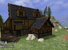 Không ngờ xây nhà trong game cũng đẹp và hoành tráng được đến thế này