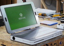 Phục sát đất chàng modder biến chiếc máy chơi game cồng kềnh thành laptop chỉ trong một nốt nhạc