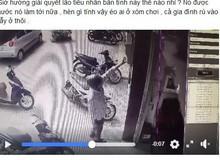"""""""Để nhờ"""" xe trước cửa nhà hàng xóm bị cắt cầu dao điện, chủ quán net không biết làm gì đành lên mạng than khóc"""