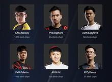 LMHT: Chính thức mở bình chọn tuyển thủ Việt Nam tham gia Siêu Sao Đại Chiến 2018 theo thể thức mới
