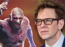 """Hay tin James Guns đầu quân cho DC, hành động này của Người tàng hình Drax đã khiến Marvel """"lo sốt vó"""""""