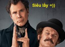 """Chết cười với cặp đôi trinh thám Holmes và Watson phiên bải siêu """"lầy lội"""""""